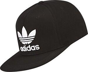 b37af8732e3 ADIDAS AC CAP TRE FLAT BLACK CAP AUST SELLER 4057289564316
