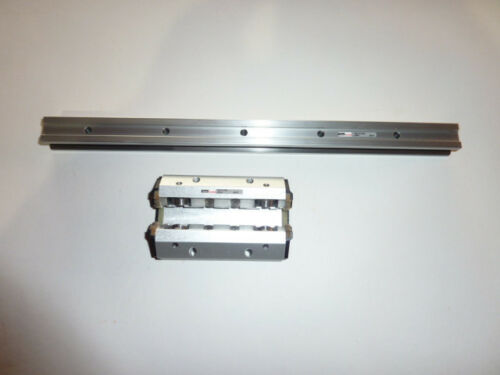 Aluminium Roller Guides linear 20mm parker rail rk-fd 20s 20519 20507 gdl-fd new