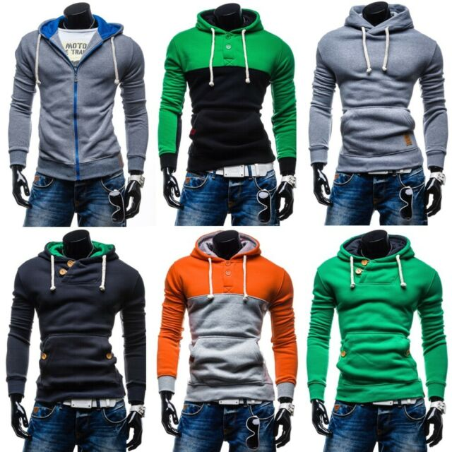 BOLF Herren Kapuzenpullover Hoodie Pullover Sweatshirt Men Kapuze MIX 1A1  Sweats b835ab4759