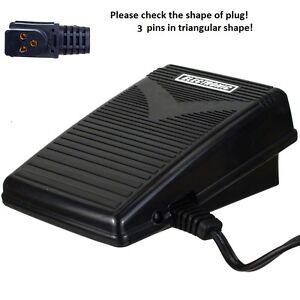 Foot Control Pedal Singer 9500,9505,9518,9600,9608,9612,9800,9802-9836,CG550