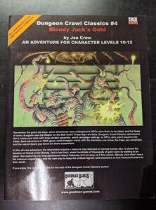 1x-Dungeon-Crawl-Classics-4-Bloody-Jack-039-s-Gold-Used-Fine-dungeon-crawl-Classic