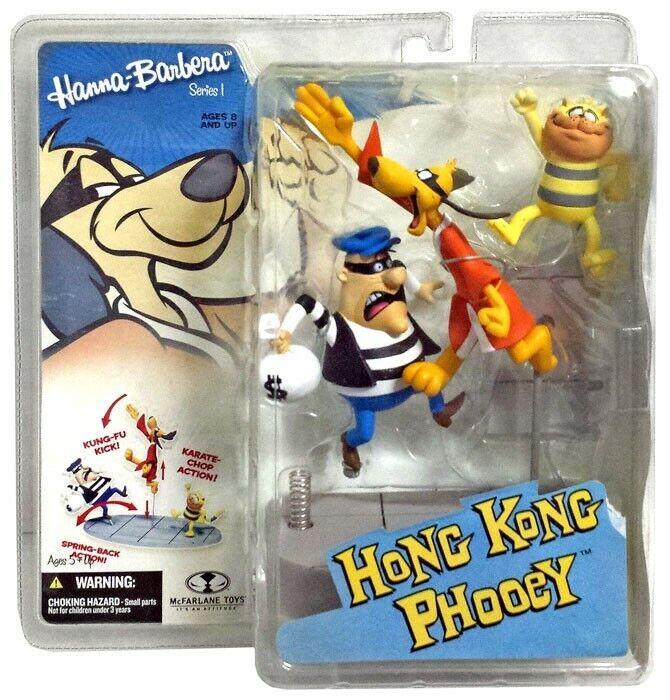 McFarlane Toys Hanna-Barbera Hong  Kong Phooey Action Figure  offre spéciale