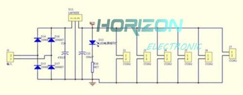 5PCS LM7809 Step Down 12V-35V to 9V Power Supply Module DIY Kit