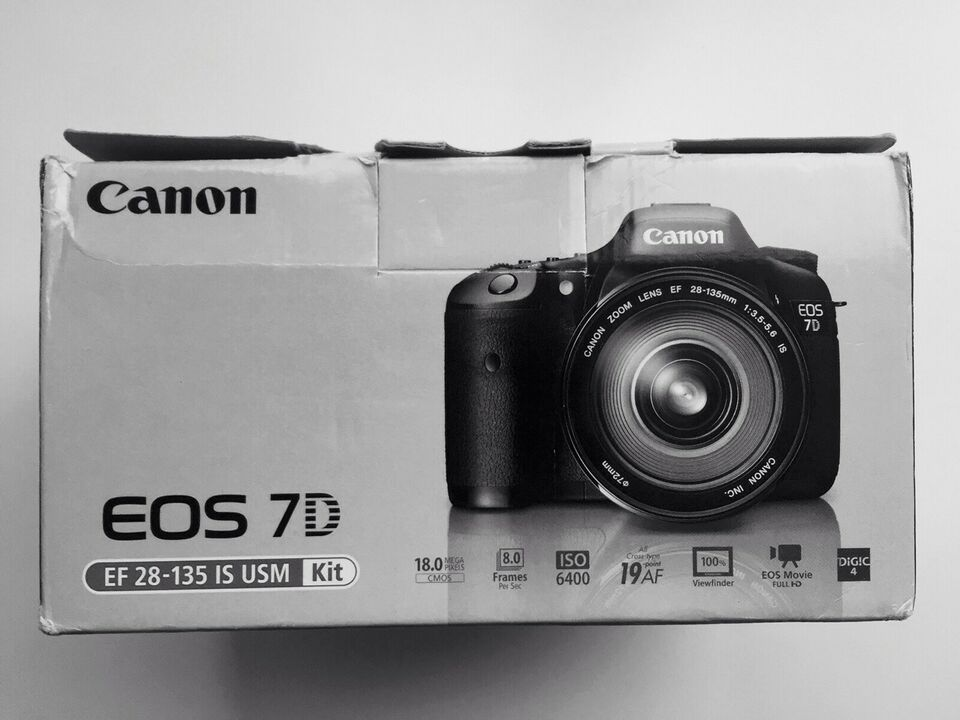 Canon, EOS 7D, spejlrefleks