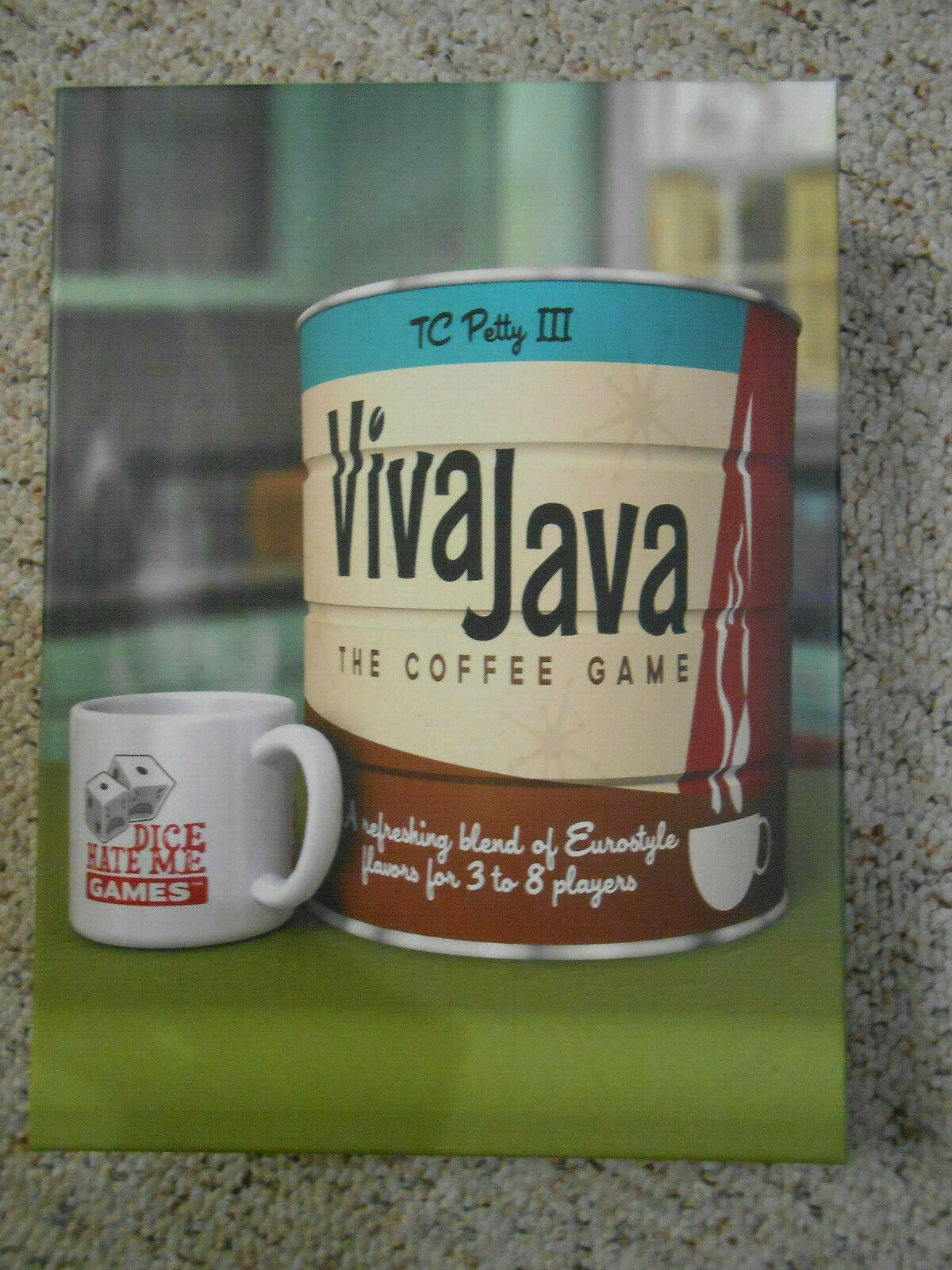 Viva Java Board Game 1st Printing, Geek Expansion with nrhyic2491