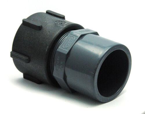 PVC femelle 50//63 pour cuve de 1000 litres eau pluie Raccord S60x6 femelle
