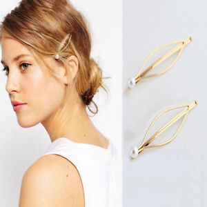 Fashion-Womens-Pearl-Hair-Pin-Barrette-Clips-Side-Hairpin-Hair-Accessories-2pcs