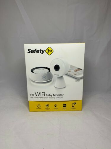 Safety 1st HD 720p WIFI Baby Monitor w// Two-Way Talk MO160 White