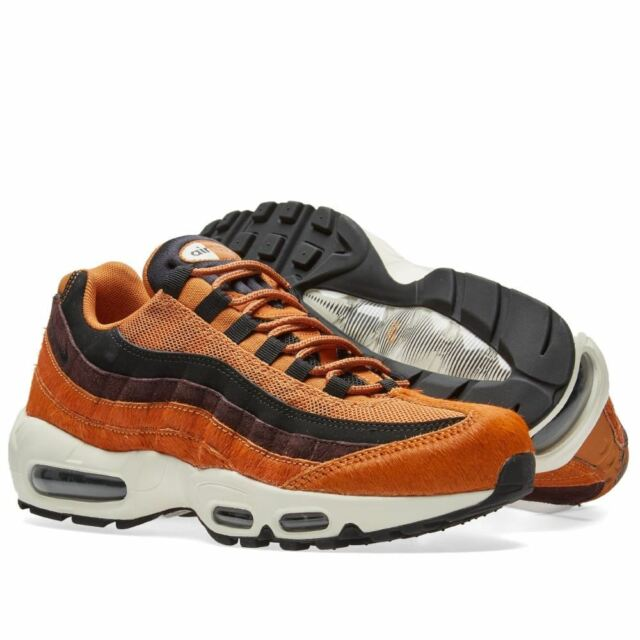 best service d2079 6a10b Nike Womens Air Max 95 LX Casual Trainers Orange (AA1103-200)