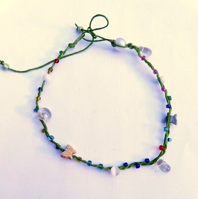 Fußband Made by Nami Fußkettchen Fußbändchen Boho Hippie verstellbar HANDMADE