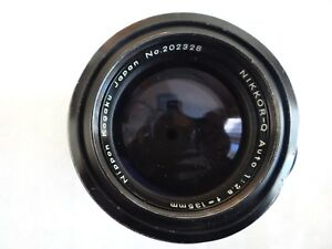 Nikon-NIKKOR-Q-135mm-f-2-8-Non-Ai-Lens-From-Japan-abd-FOR-PARTS