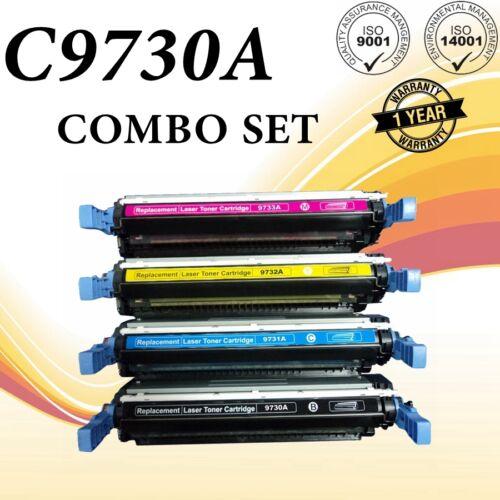 4PK C9730//31//32//33A Toner Set For HP Color LaserJet 5500 5500DTN 5500DN 5550N