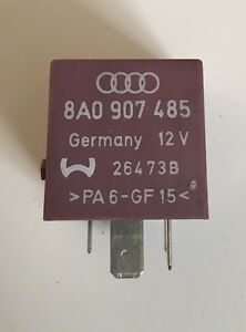 AUDI 80 90 CABRIOLET ELECTRIC WINDOW SUNROOF CONTROL RELAY 441959257C NO.343