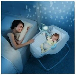 Baby Rocking Bassinet Cradle Travel Infant Bed Room