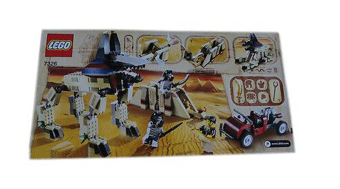 Lego Pharaon'S QUEST Rise of the Sphinx (7326)   prix de gros