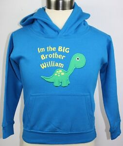 Personalized Im The Big Brother Boys Hoodie