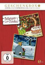 2 DVDs + 2 CDs * PETTERSSON UND FINDUS - GESCHENKBOX 1 # NEU OVP &