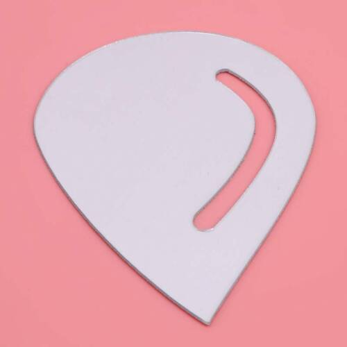 16x Heart-Shaped Mirror Sticker Love Shaped Wall Decals Home Hanging Decor
