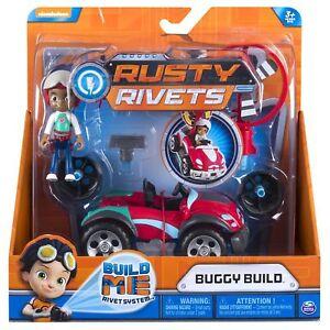 RUSTY-RIVETS-Rubi-s-Buggy-Construye-Paquete-NICKELODEON-Set-de-figuras