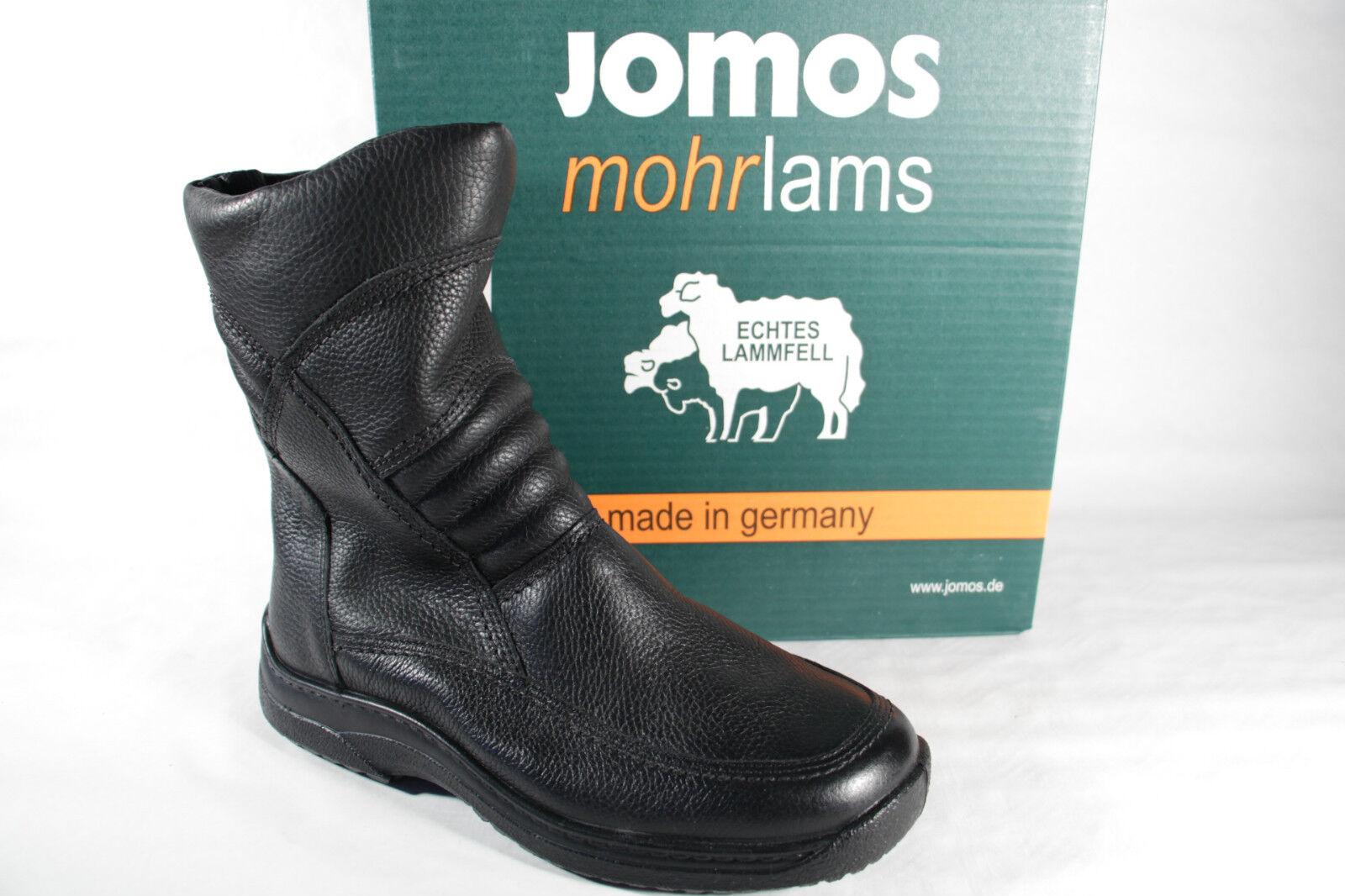 Jomos Uomo nero, Stivali Stivali Invernali, Boots, nero, Uomo RV, in vero agnello NUOVO! 1ddb79