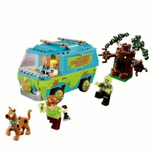 Scooby-doo-the-The-mystery-machine-Doo-the-mystery-Lego-75902-scooby-Blocks-Toys