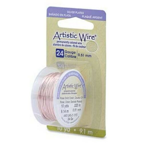 24 Ga Free Shipping Artistic Wire-Rose Gold Color