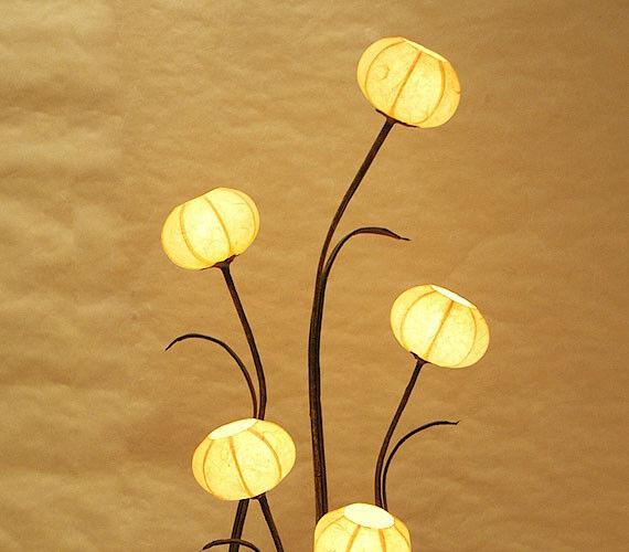 Mesa de diseño lámpara noche mesa de noche lámpara lámpara lámpara de papel 418278