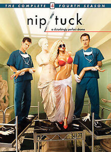 DVD-Nip-Tuck-Complete-Season-4-Fourth-DISCS-ONLY-no-case