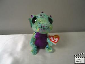 Cinder The Dragon Ty Beanie Boo's small Plush