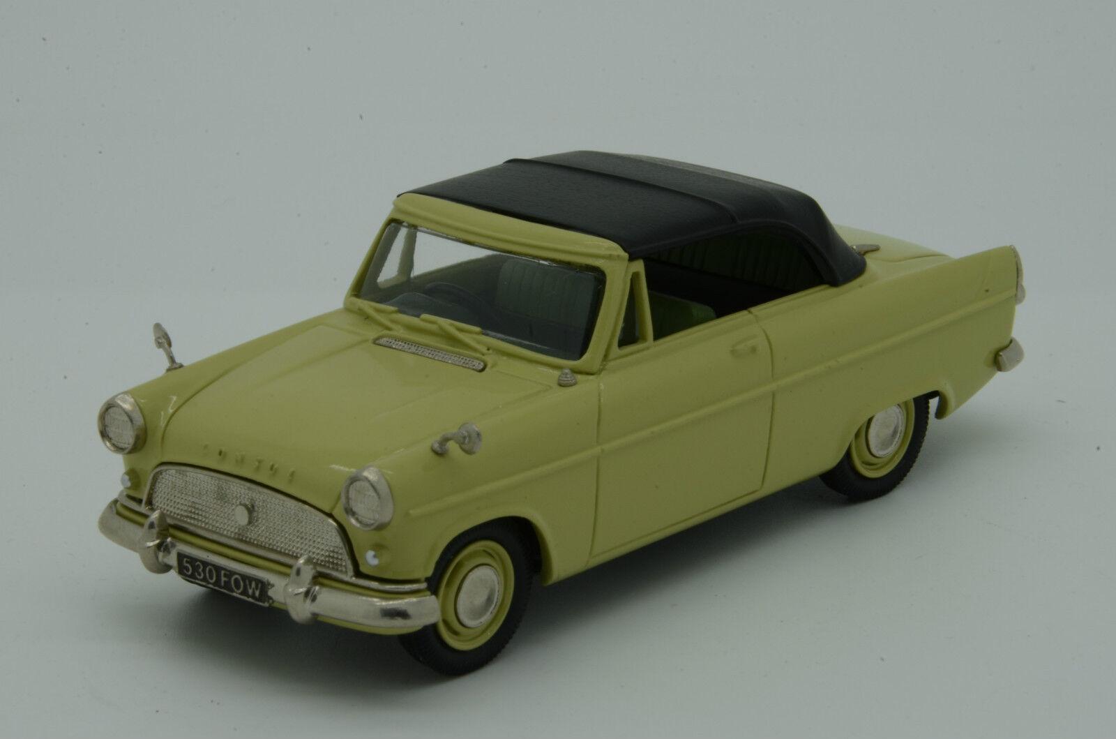Raro Ford Consul Mkii Converdeible 1962 Lansdowne Ldm. 23 por Brooklin 1 43