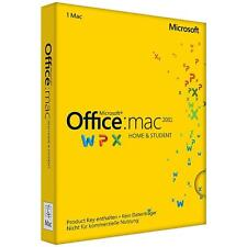 Microsoft Office MAC Home & Student 2011 Produktkey für Excel,Word,P-Point