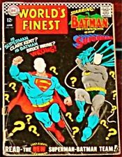 WORLD'S FINEST 167 DC SUPERMAN BATMAN RARE VG 1941 SER
