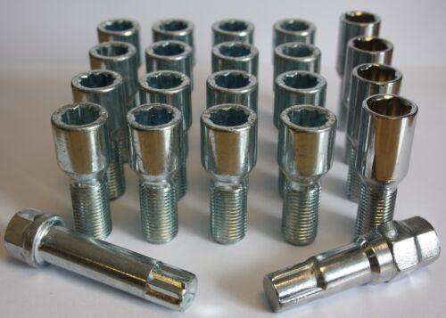 16 x M12 x 1.5 sintonizzatore Slimline ruota in lega perni di bloccaggio VAUXHALL ASTRA TwinTop