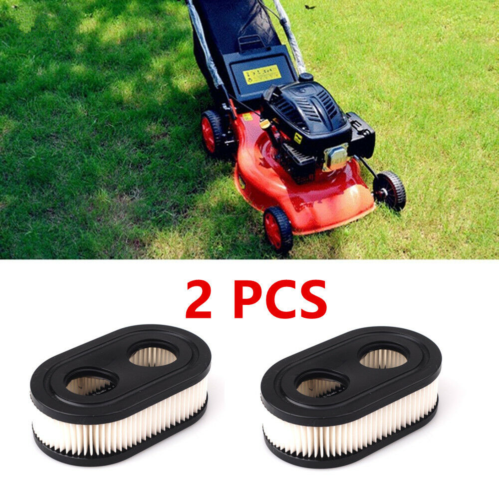 2 PCS Lawn Mower Air Filters for Briggs & Stratton 798452 593260 5432K 5432 Home & Garden