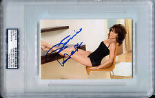 PATRICIA HEATON Signed Slabbed 4x6 Sexy Legs Negligee Photo The Middle PSA/DNA