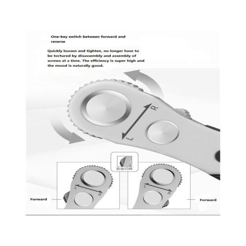 Mini Mountain Bike Ratchet Disc Wrench Set T25 Torx Combination Tool Kit W// Bag