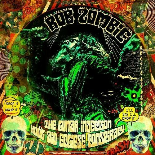 Rob Zombie The Lunar Injection Kool Aid Eclipse Conspiracy (CD, 2021)