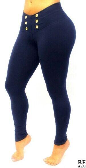 Bon Bon Up Women's Leggings with Internal Body Shaper ButtLifter Levantacola1063