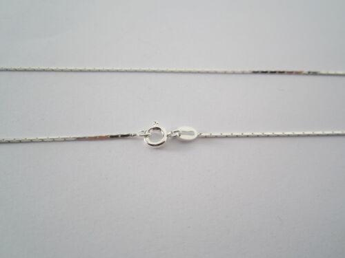 argento 925 made in Italy mis 08x0,8 mm. 1 catenina modello cobra lunga 50 cm