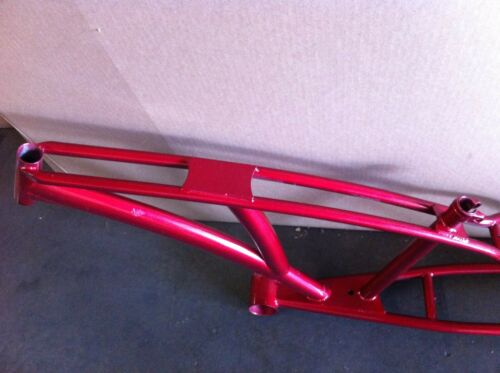 """Red CHOPPER Bike Frame 1/"""" Beach Cruiser Trike Bicycle New"""