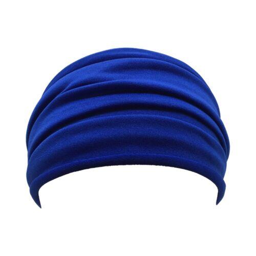 Details about  /Women//Men Yoga Sports Wide Headband Elastic Boho Hair Band Head Wrap Wristband