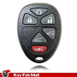 2 Car Key Fob Keyless Remote 6Btn Navy For 2007 2008 2009 2010 2011 GMC Yukon
