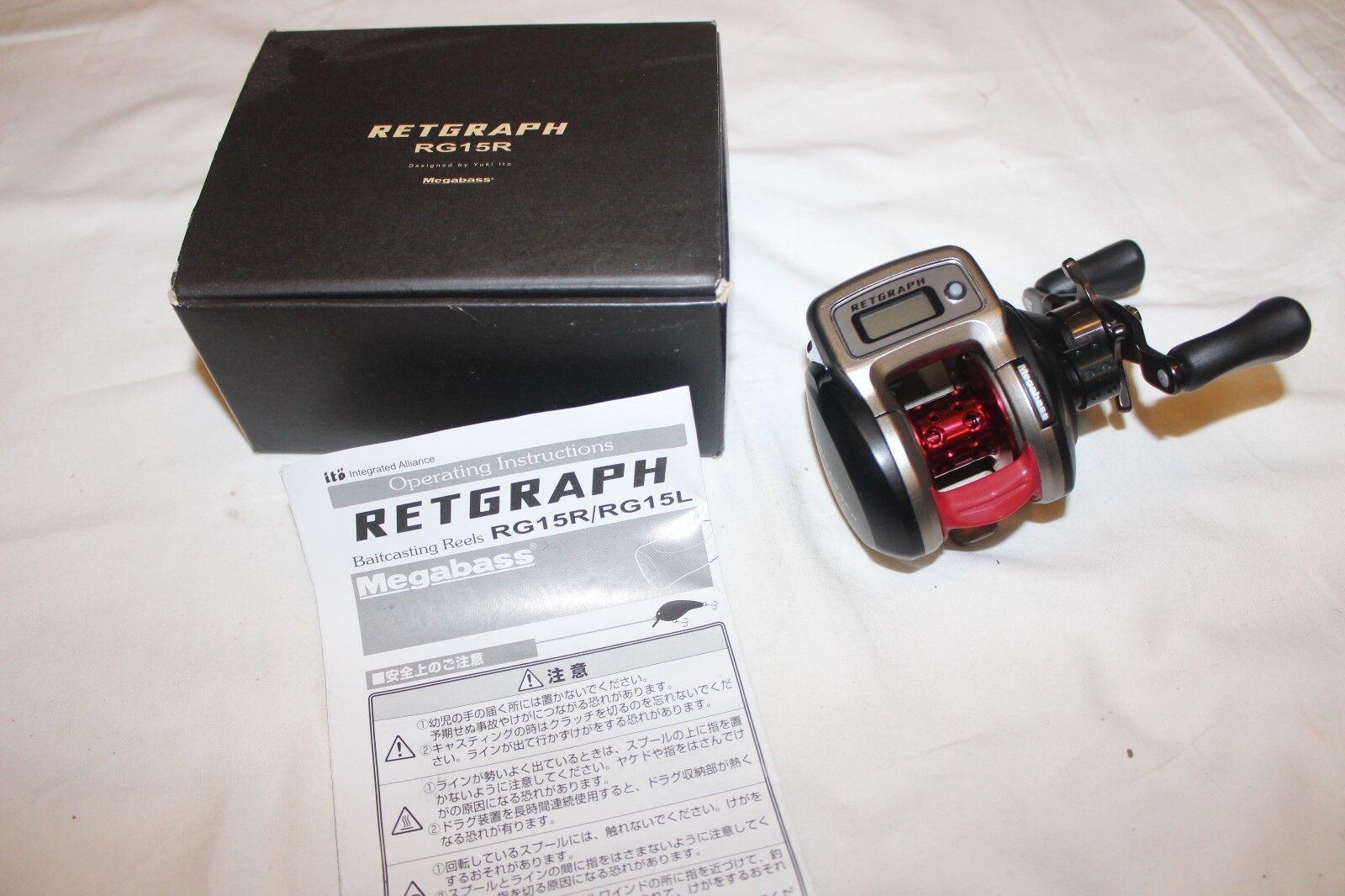 MEGABASS RETGRAPH RG 15 R -NEU IM OVP -Nr-790