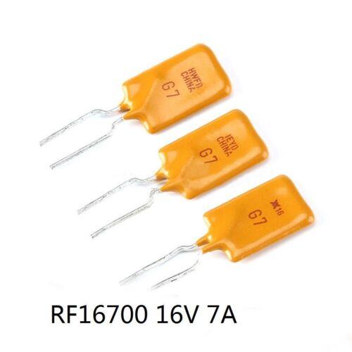 Auto restablecer fusible 60V 0.5A 30V 1.1A 16V 1 a 2A 7A 12A-auto restablecer fusible Il