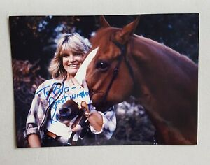hand-signed-Katherine-Ross-color-photo-autographed-5-x-7-authentic