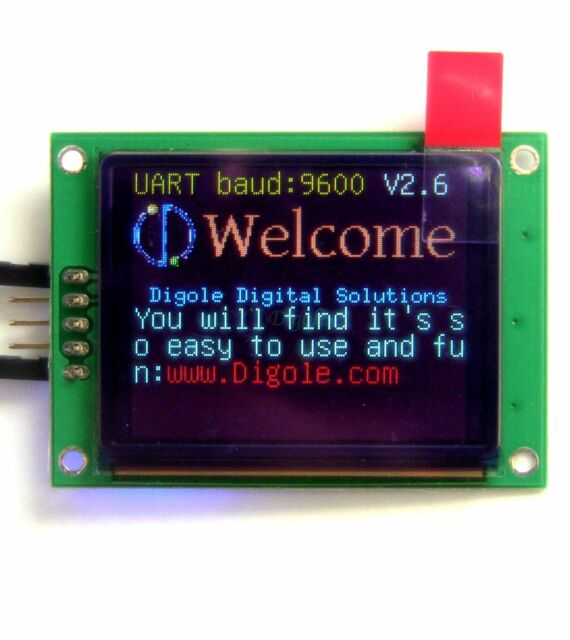 "1.8"" Serial:UART/I2C/SPI True Color OLED 160x128 Display Module for Arduino PIC"