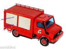 Camion de pompier MERCEDES UNIMOG collection SOLIDO red fire truck di pompiere