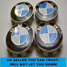 4 x BMW 68mm Centre Caps To Fit E36 E38 E39 E46 E52