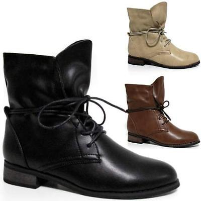 Ladies Biker Boots New Ankle Winter Chelsea Riding Smart Heels Slouch Shoes Size