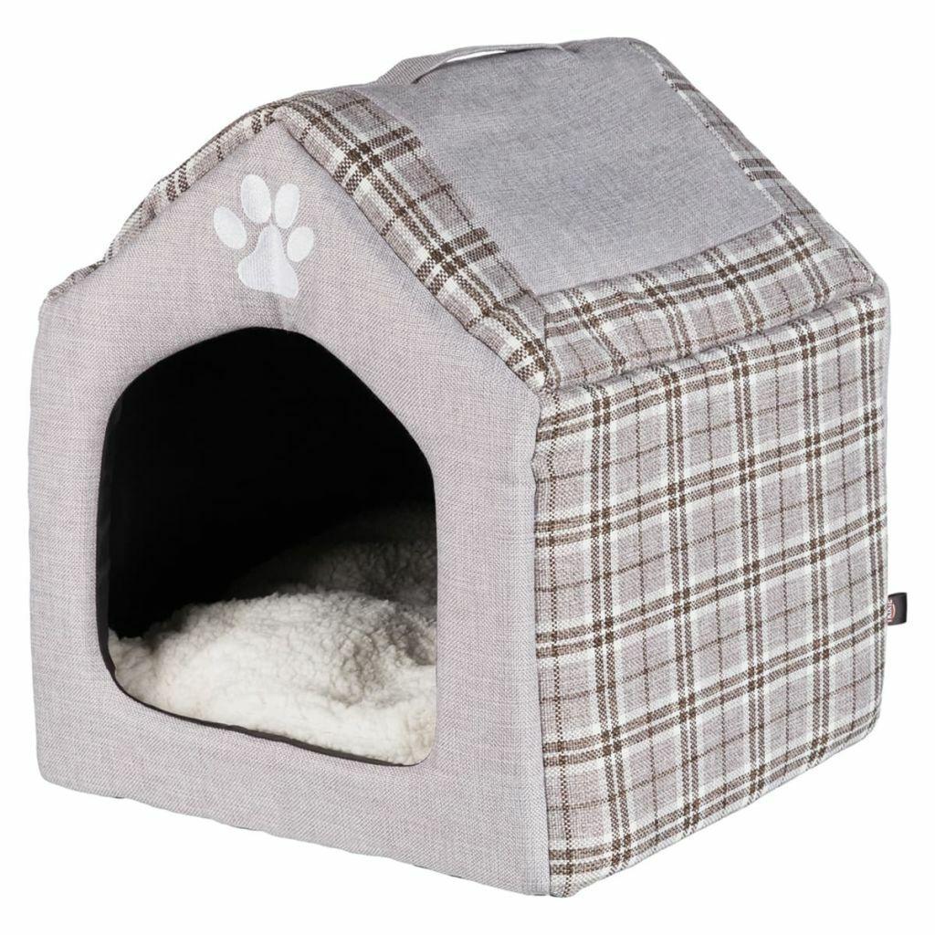 TRIXIE Cuccia Lettino Cuscino per Animali Cani Gatti Furetti Silas 40x40x45 cm